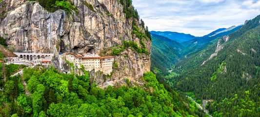 Sumela Monastery in Trabzon Province of Turkey Wall mural