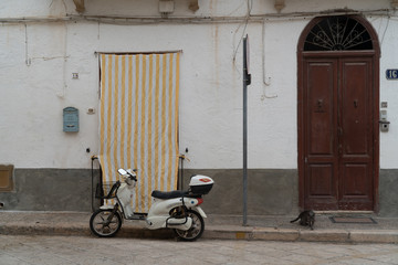 Scooter The island of Favignana
