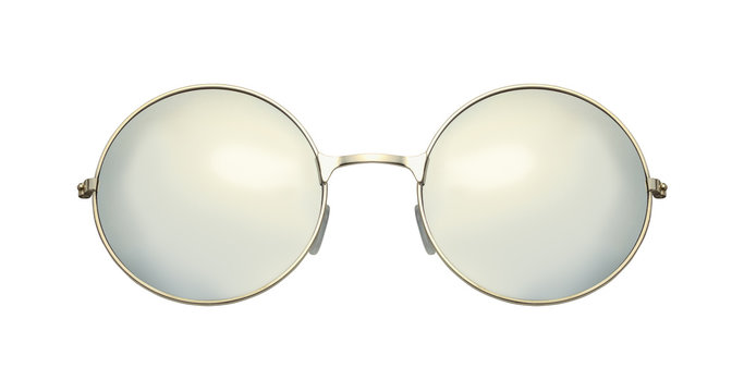 Round Sunglasses Front View