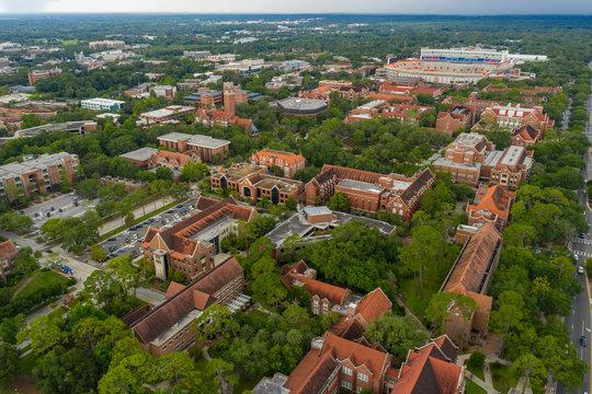Drone photo University of Florida Gainesville