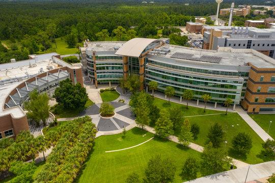 Aerial photo Harris Corporation Engineering Center UCF Orlando