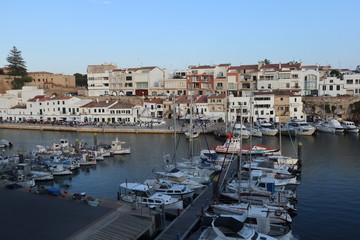 Photo sur Aluminium Algérie Ciutadella port, Menorca