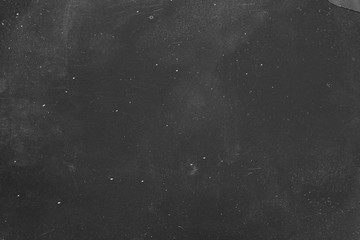 Dust and scratches design. Black abstract background. Night sky effect. Copy space.