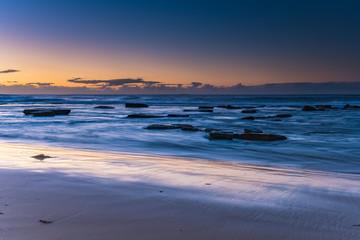 Clear Skies Sunrise Seascape