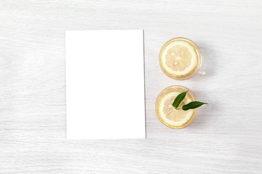 Invitation Mockup, Wedding Card Mockup, Blank 5x7 Card, Greeting Card, Classic Invitation Card