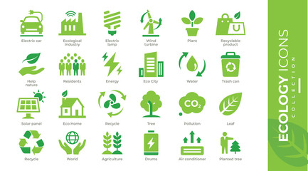 icônes écologie