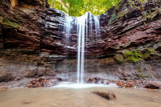Hörschbachschlucht, Wasserfall, Murrhardt