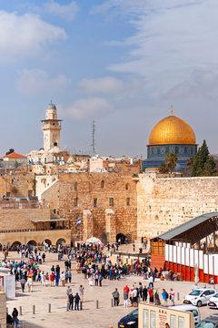 Felsendom, Jerusalem, Israel.