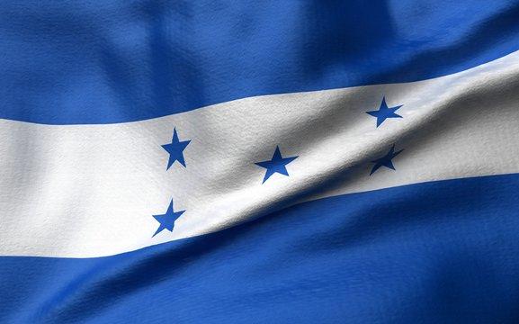 3D Illustration of Honduras Flag