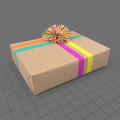 Gift wrapped box 1