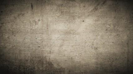 Braune rustikale Hintergrund Textur mit dunklen Ecken und verschmutzten Strukturen.