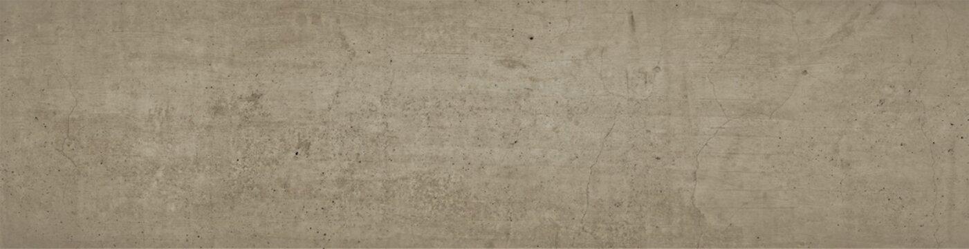 Braune Betonwand Struktur als Hintergrund im Breitbild Format. Strukturierte Betonwand, Industrial Style.