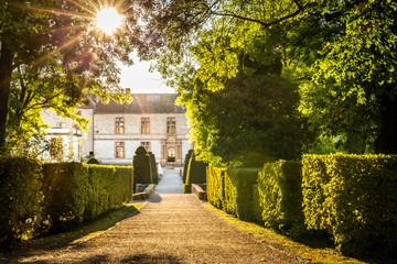 Cormatin Castle in Burgundy, France.
