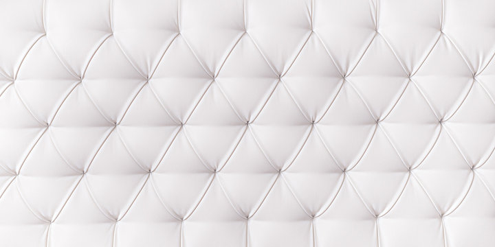 Long white upholstery texture and background