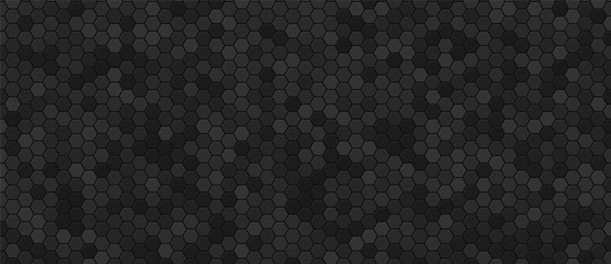 Black honeycomb industrial background .