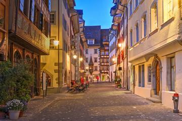 Street in Zug, Switzerland