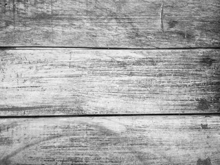 Background Old rustic wood texture - black and white