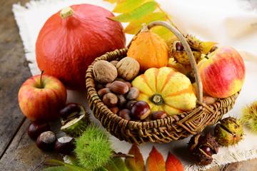 Herbst Ernte Korb