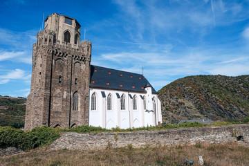 Die Pfarrkirche St. Martin in Oberwesel am Rhein