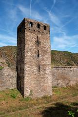 Turm der alten Stadtmauer von Oberwesel