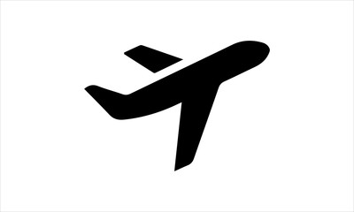 Airplane icon vector design template