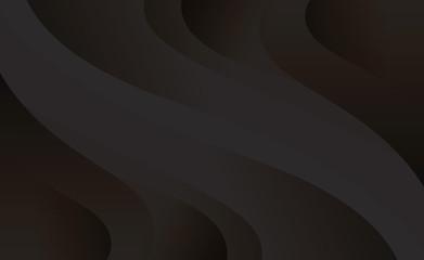 Black background wave
