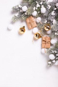 Winter holidays background.