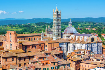 Siena Cathedral in Siena (Italy)