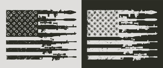 Vintage military concept
