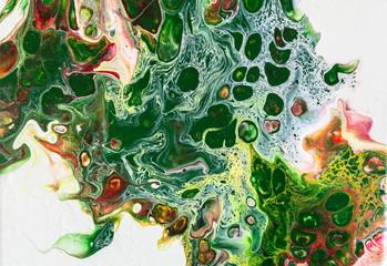 Pouring, abstrakte Kunst