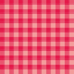 Seamless sweet pink background - checkered vector pattern or grid texture for web design, desktop wallpaper or culinary blog website