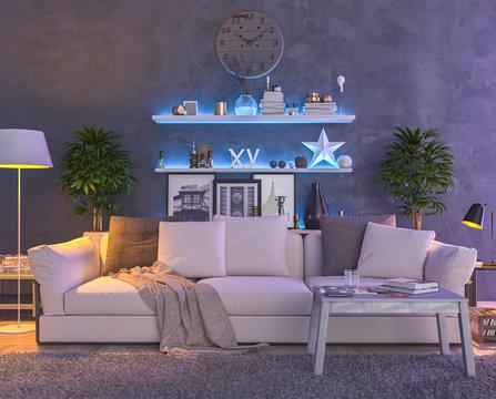 Multi Color interior lights