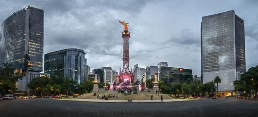 Mexico´s city monument Papier Peint