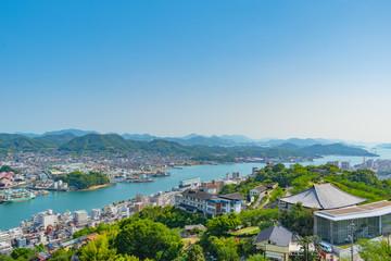 千光寺公園から望む尾道の風景