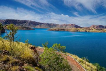 View of Lake Agryle Western Australia