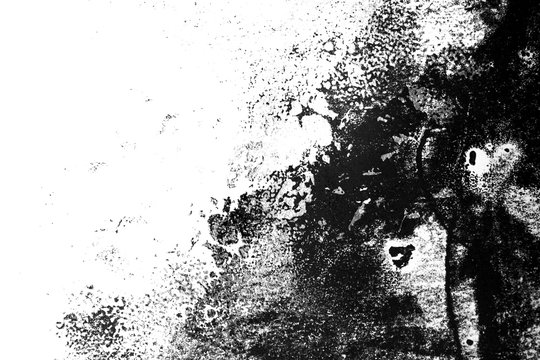 white black paint background texture with grunge brush strokes