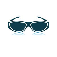 Poker Sunglasses Icon