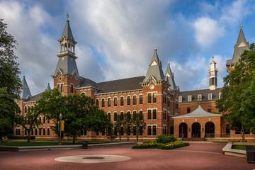 Baylor University campus in Waco, Texas