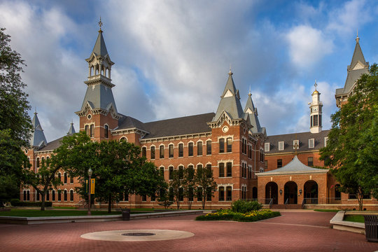 Baylor University campus in Waco, Texas