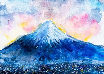monte fuji vulcano giapponese