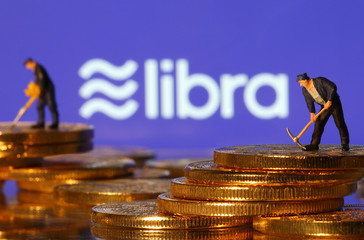 Libra logo in illustration picture