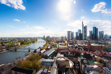 Frankfurt am Main. Image of Frankfurt am Main skyline in Germany.