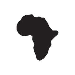 africa vector icon
