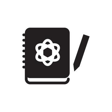 logbook vector icon