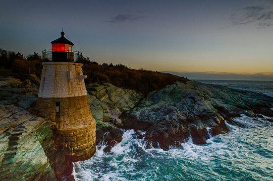 Castle Hill Lighthouse Newport, RI.