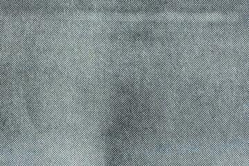 Macro of grey halftone dots on newsprint