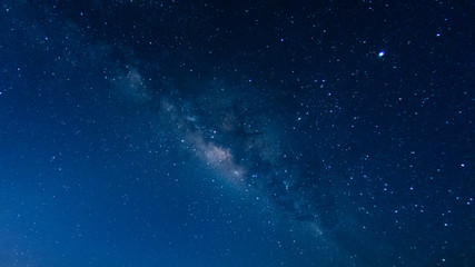 Noise,Milky way galaxy with stars and space in the universe background at thailand Fototapete