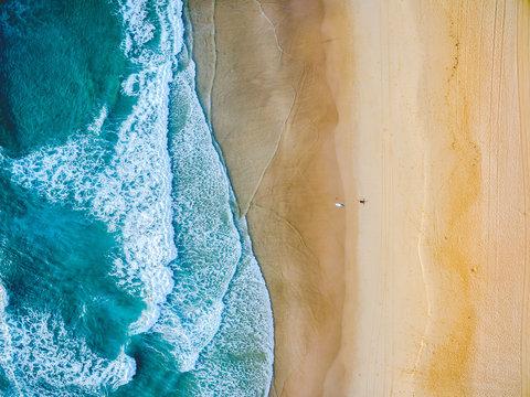 Coastline Beach Aerial