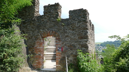 Ruine Veste Oberhaus Passau