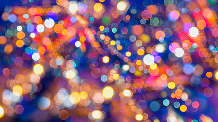Abstract background bokeh used as a general design surface. Wall mural